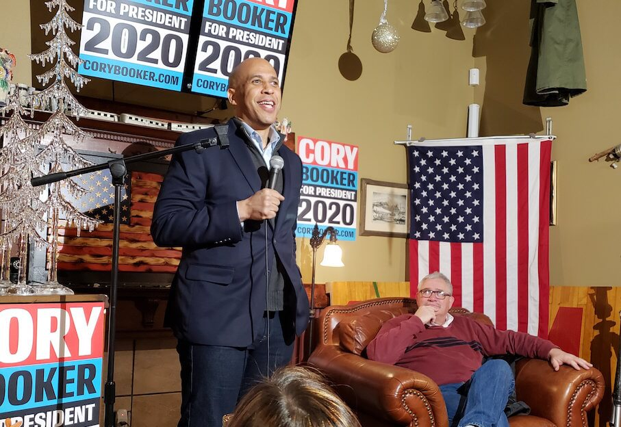 Senator Cory Booker and Representative Mark Smith