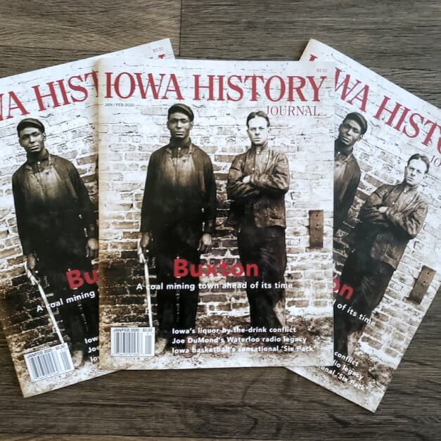 Buxton article in the Iowa History Journal